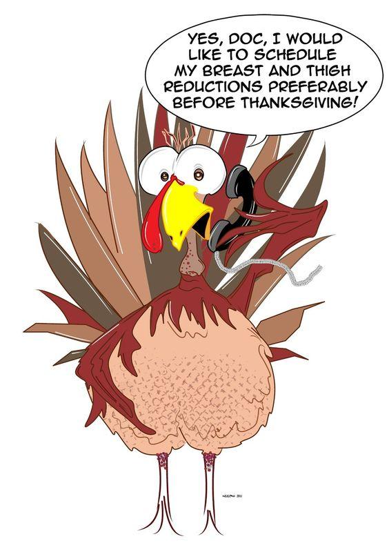 Funny Thanksgiving Clip Art | Funny Thanksgiving Turkey by Neeckochichi