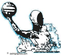 Funny Water Polo Clipart