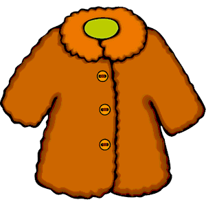 Fur Coat Clipart