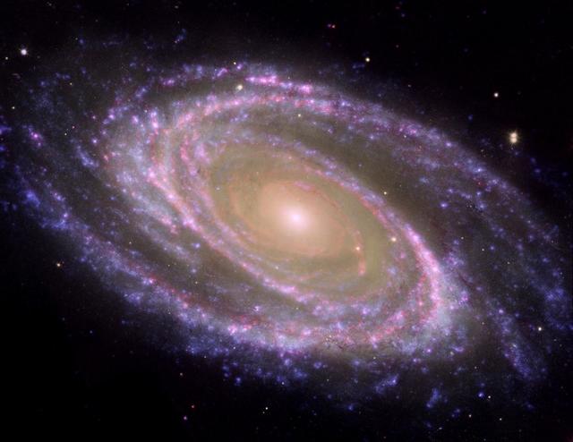 Galaxy Clipart Nasa Image M81 Galaxy