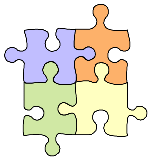 Gallery For Free Clip Art Of Puzzle Piec-Gallery for free clip art of puzzle pieces image-3