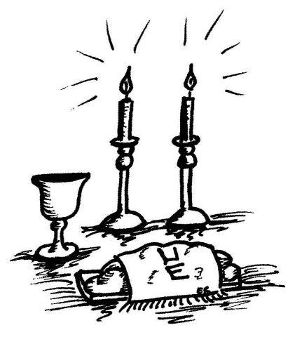 Gallery For U0026gt; Shabbat Table Clipa-Gallery For u0026gt; Shabbat Table Clipart-1