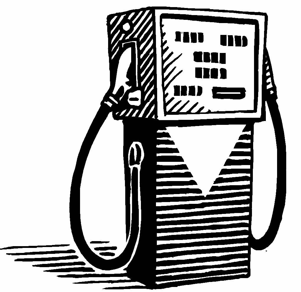 Gallery For Vintage Gas Station Clip Art