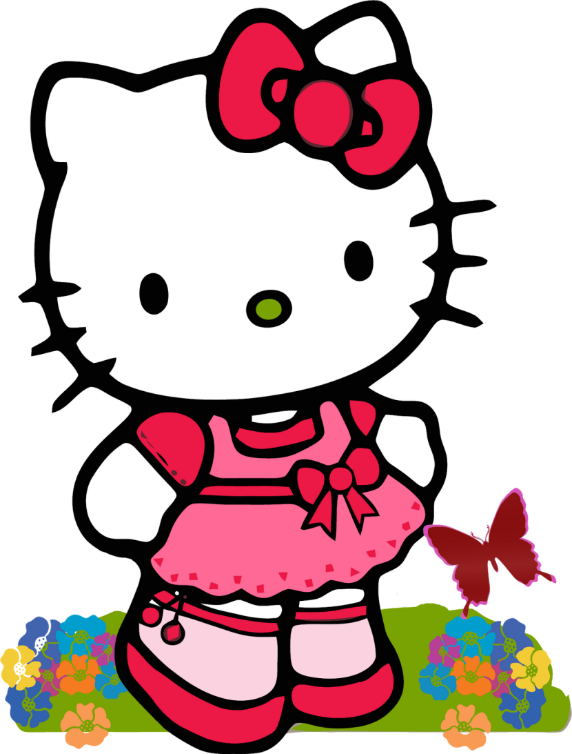 Gambar Gambar Hello Kitty