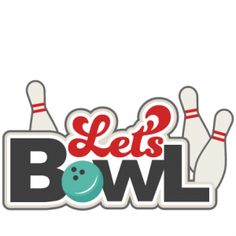 Bowling clipart black and