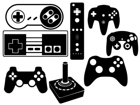 Game Controller Clipart .