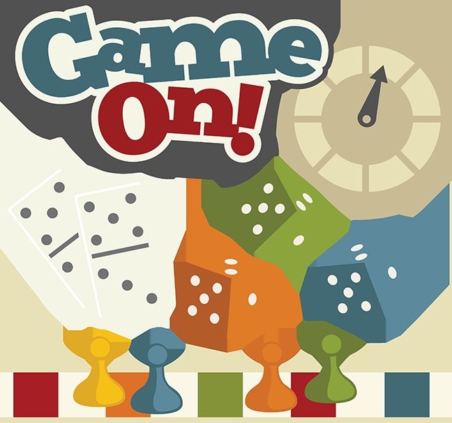 game night free clipart game .