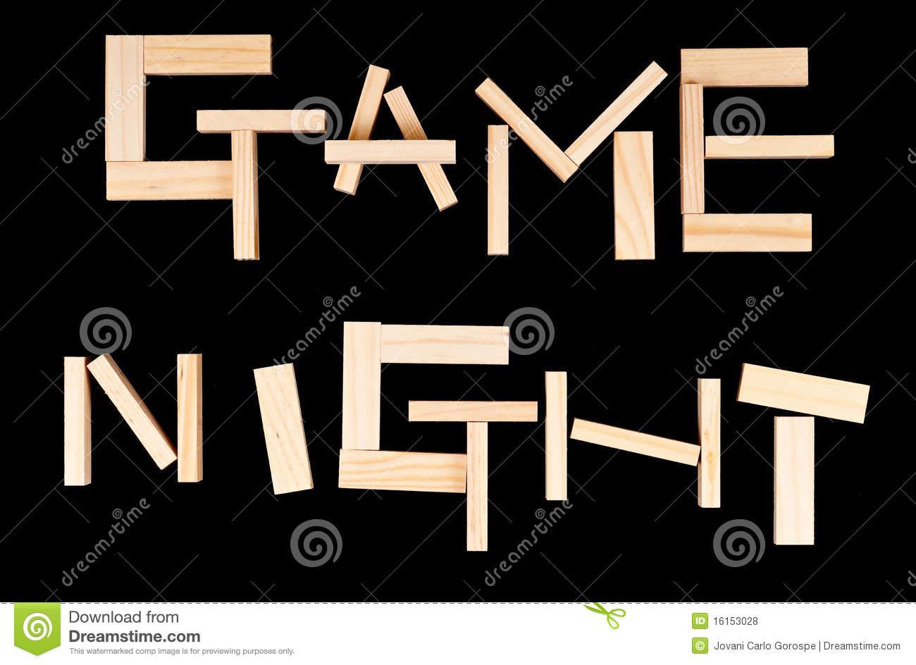 Game Night Royalty Free Stock Photos Ima-Game Night Royalty Free Stock Photos Image 16153028-15