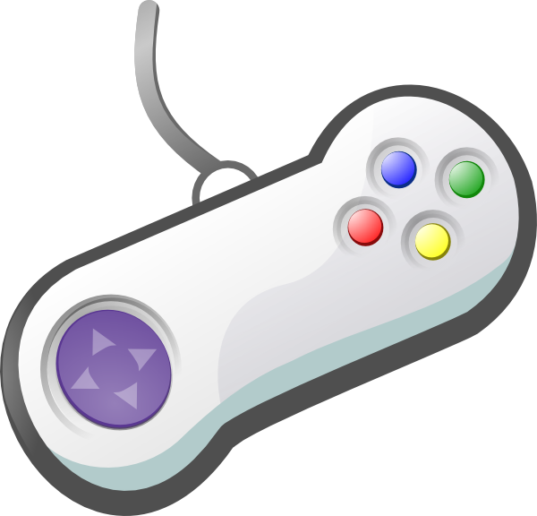 Download this image as: - Gamepad Clipart