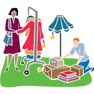 Garage sale yard sale garage clip art free rummage image search