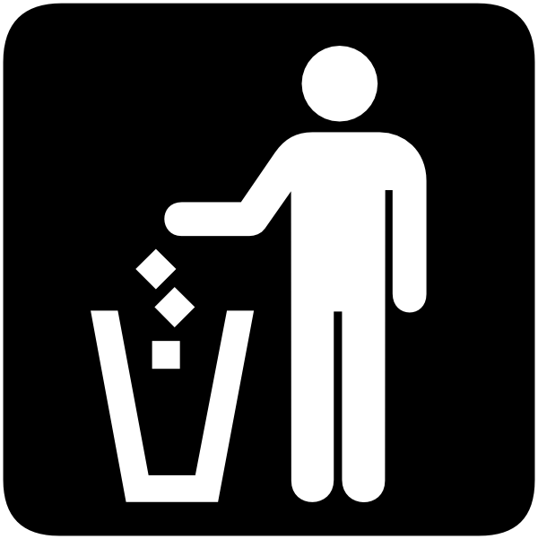 Garbage Can Clip Art At Clker Com Vector Clip Art Online Royalty