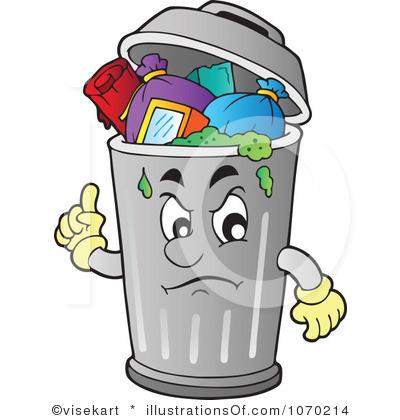 Garbage Can Clip Art Garbage  - Trash Clip Art