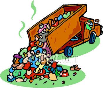 Garbage Garbage Truck Landfill Rubbish T-Garbage Garbage Truck Landfill Rubbish Trash Truck Waste Garbage Truck-5