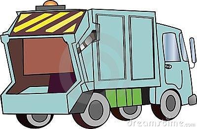Garbage Truck Clip Art-Garbage Truck Clip Art-12