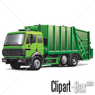 Garbage Truck Free Clipart