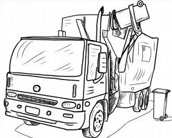 Garbage Truck-Garbage Truck-17