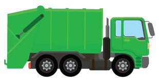 Garbage truck Royalty Free .-Garbage truck Royalty Free .-8