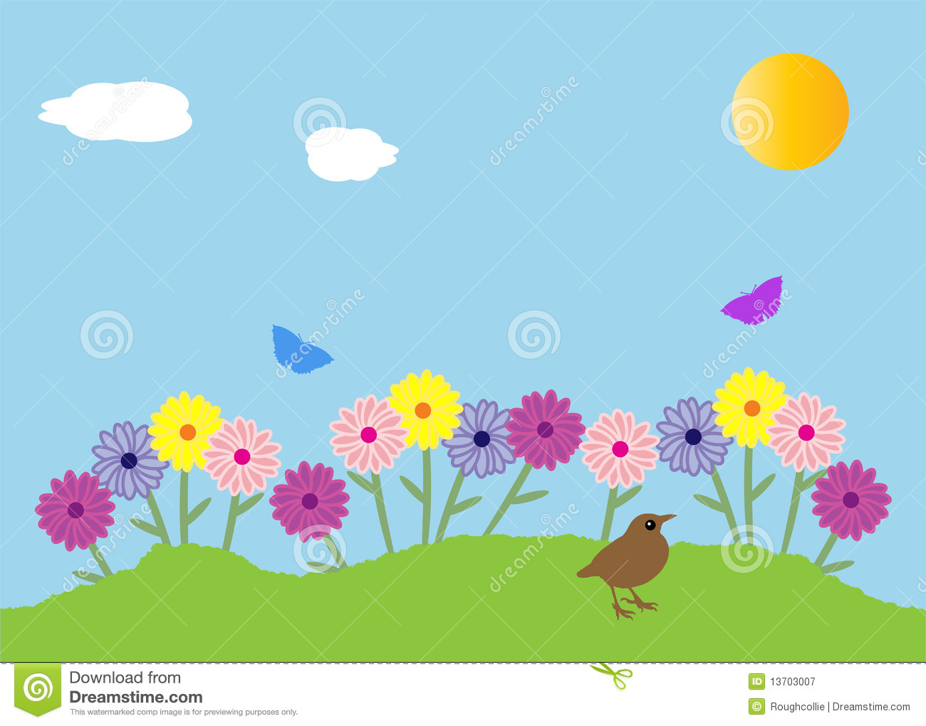 garden clipart - Garden Clipart