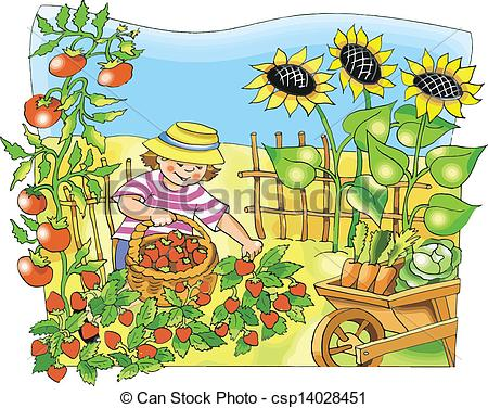 garden clip art id-14263 .
