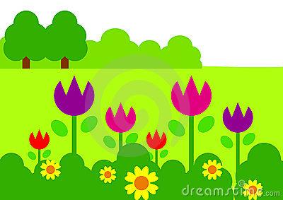 Garden Clipart - Clipart Kid