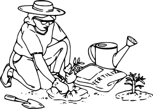 Gardening Clip Art-Gardening Clip Art-9