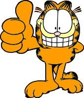 Garfield clip art-Garfield clip art-8