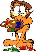 Garfield clip art-Garfield clip art-16