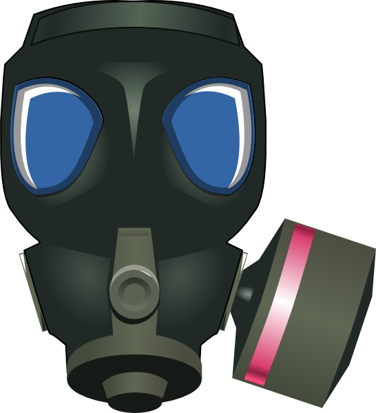 Gas Mask Clip Art At Clker Com Vector Clip Art Online Royalty Free