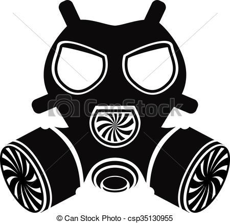 Gas Mask Vector-Gas Mask Vector-14
