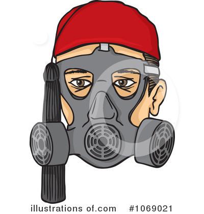 Royalty-Free (RF) Gas Mask Clipart Illus-Royalty-Free (RF) Gas Mask Clipart Illustration by Any Vector - Stock Sample-12