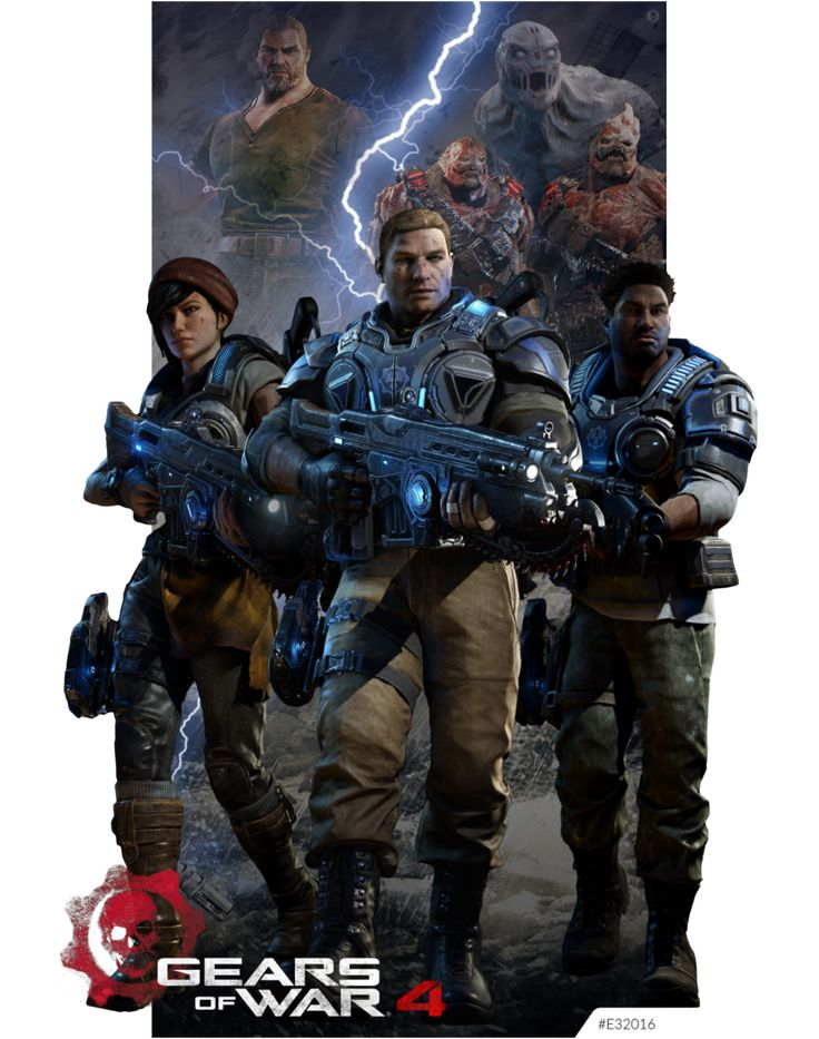 Gears Of War 4 E32016 by Kind - Gears Of War Clipart