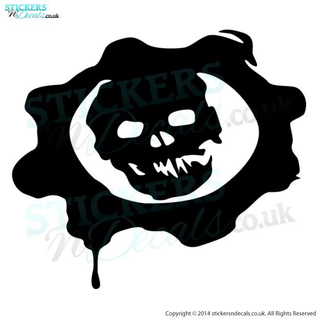 Gears Of War Logo Sticker