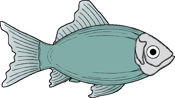 Generic Fish Clip Art At Clker Com Vector Clip Art Online Royalty