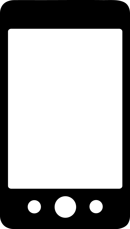 Generic Smartphone Logo Design - Free Clip Art. Cell Phone ...