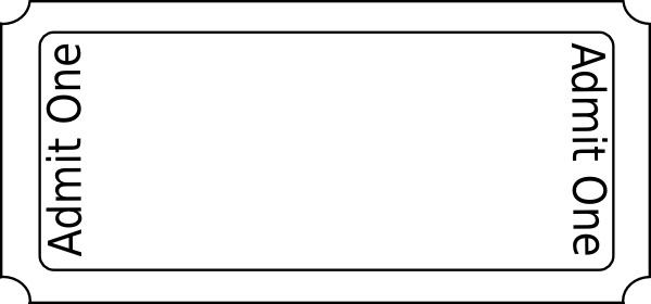 Generic Ticket clip art