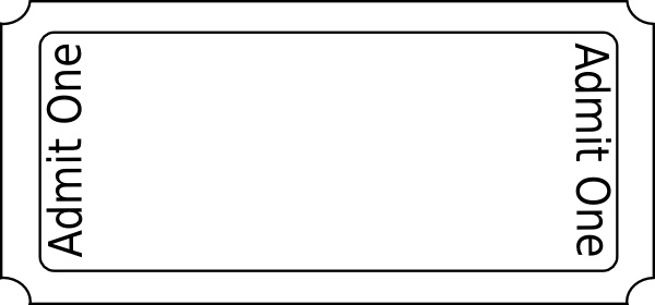 Generic Ticket Clip Art-Generic Ticket clip art-5
