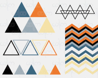 Geometric Clip Art Graphic Design Patter-Geometric Clip Art Graphic Design Pattern for your art projects-13