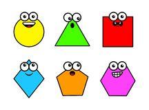 Geometry shapes vector clipart Stock Ima-Geometry shapes vector clipart Stock Images-15