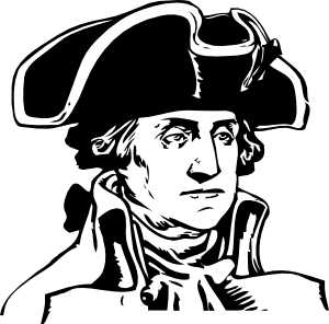 George Washington Clip Art .-George Washington clip art .-5