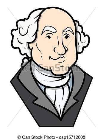 ... George Washington Vector Clip-art - George Washington.