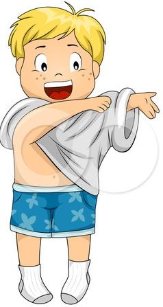 Get Dressed Clip Art Kids 201 - Get Dressed Clipart