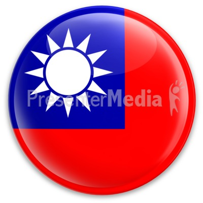 The Republic Of China Taiwan Button - Signs and Symbols - Great Clipart for  Presentations - www.PresenterMedia clipartlook.com