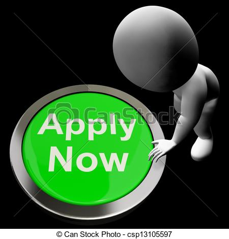 Apply Now Button For Work Job Application - csp13105597