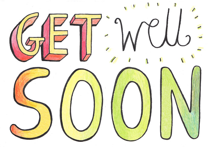 Get Well Soon Clip Art & Look At Clip Art Images - ClipartLook