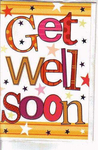 Get Well Soon Clip Art |