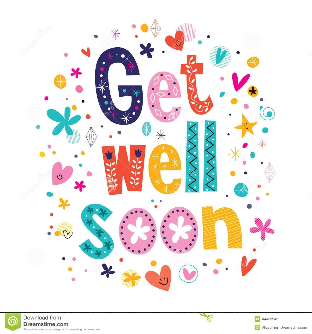 Get Well Soon Clipart