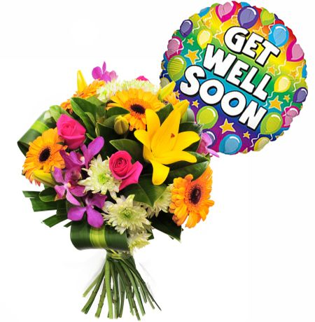 Get Well Soon @got2luver wish I could hand deliver xO
