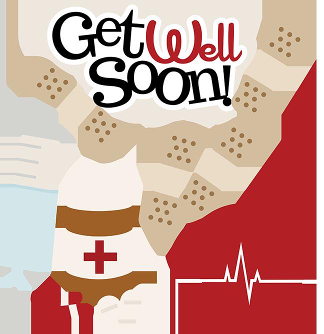 Get Well Soon SVG doctor svg files nurse svg files sick day svg .