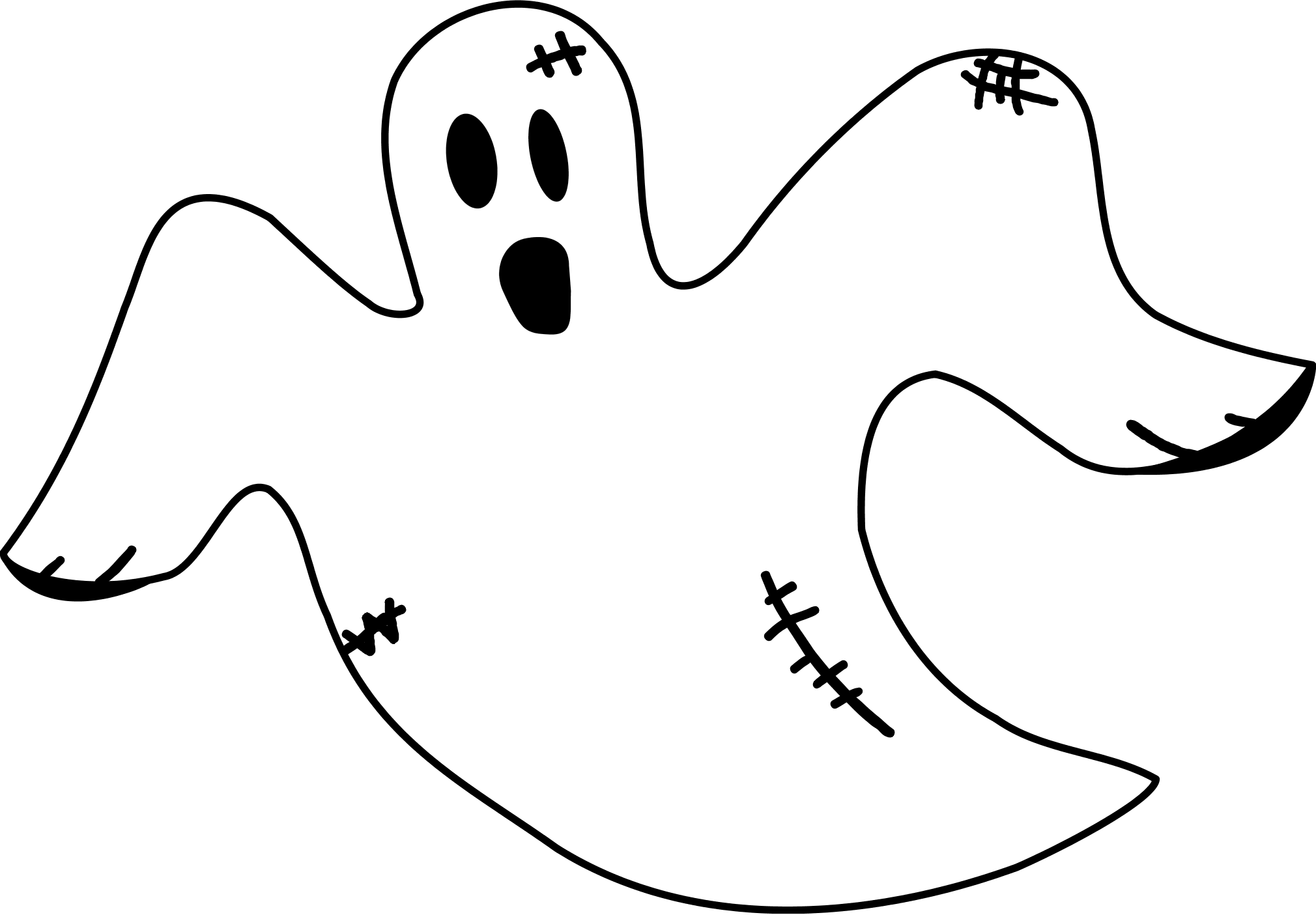 Ghost Clip Art - Clip Art Ghost