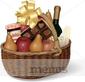 Gift Basket Clipart - Gift Basket Clipart